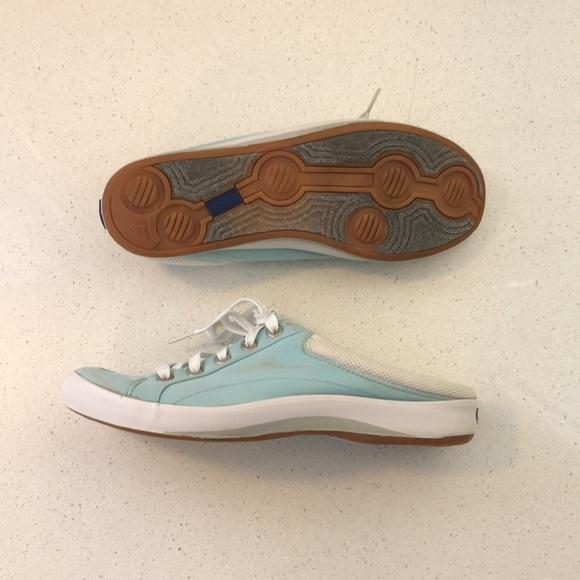 Keds Slip On Sneakers Women's Light Blue